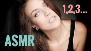 ASMR Gina Carla 1️⃣2️⃣3️⃣ Counting in English! Soft Whispering!
