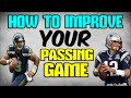 HOW TO IMPROVE YOUR PASSING GAME! BECOME A DOT THROWER! Madden 16 Tips
