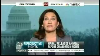 NARAL President Ilyse Hogue Discusses Who Decides? on MSNBC