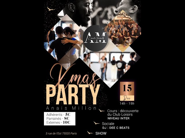 [Events] Xmas Party by Anais Millon