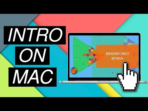 HOW TO MAKE A YOUTUBE INTRO ON MAC | 2018