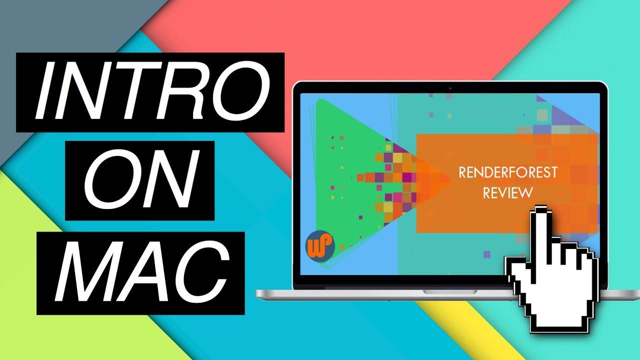 youtube video intro maker mac