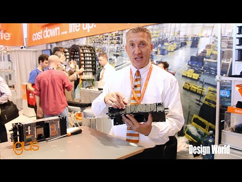 Introducing the igus E41 Cable Carrier System at IMTS