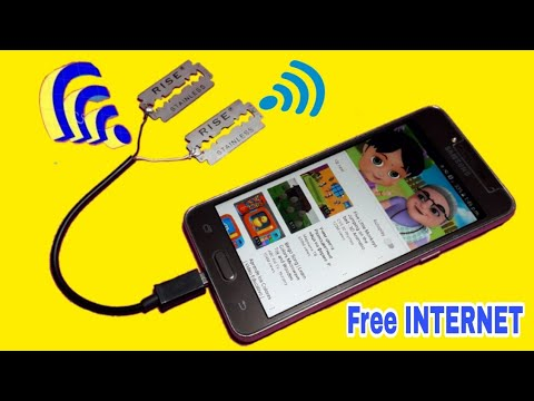 How to make Free internet Unlimited 100% Work -  How to Get Free INTERNET Free WiFi - 2019