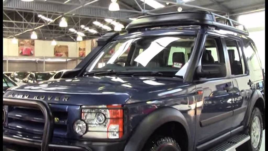 Land Rover Discovery 3 Blue 2005 1009099 Youtube