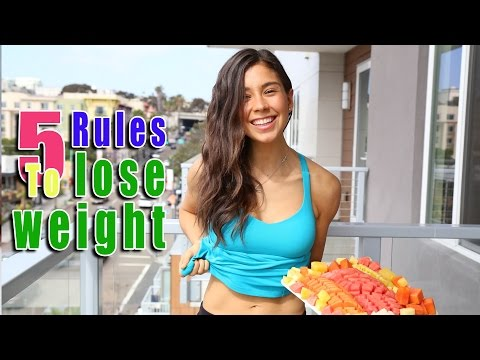 5 Rules to Burn Fat and Lose Weight! Part 1