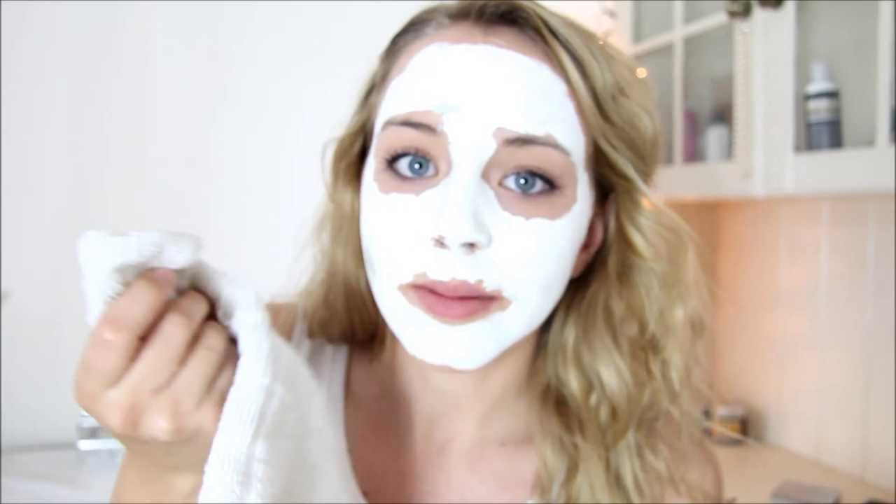 Apply facial mask