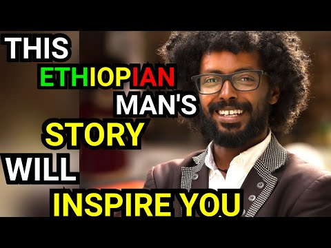 Ethiopian man 𝐑𝐞𝐟𝐮𝐠𝐞𝐞 To 𝐒𝐭𝐫𝐞𝐞𝐭 𝐁𝐨𝐲 To 𝐇𝐚𝐫𝐯𝐚𝐫𝐝 Lectures & Owning Best Cultural Center