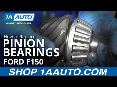 How to Replace Pinion Bearings 09-14 Ford F150
