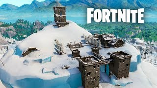 Fortnite Season 7- POLAR PEAK Gameplay + zipline glitch