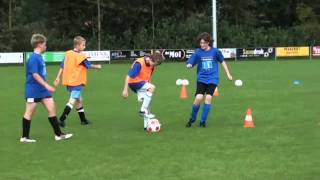 voetbal clinic duurzaam Hoonhorst.