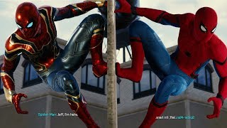 Straw, Meet Camel (Stark Suit to Iron Spider Suit Transition) - Marvel