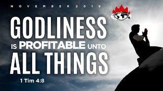 DAY 2: WEEK OF SPIRITUAL EMPHASIS NOVENBER 07, 2019