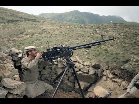 Home Video of Afghani Mujahideen Firing Rockets at Soviets