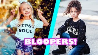 HILARIOUS EVERLEIGH AND AVA BLOOPERS!