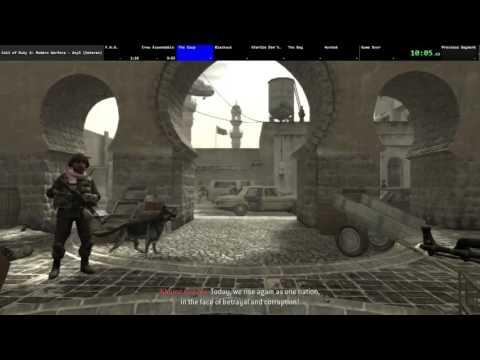 Call of Duty 4: Modern Warfare Veteran Speedrun 4:08:49 (World Record)