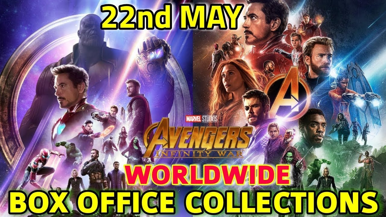 AVENGERS INFINITY WAR WORLDWIDE BOX OFFICE COLLECTION TILL 22 MAY ALL SET  TO BEAT STAR WARS ( TFA )