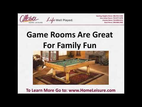 Game Room, Fireplace Store Detroit, Pool Table Dealer