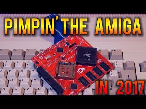 Pimpin' The Amiga 500 In 2017. 68030,  Compact Flash, Kickstart 1.3