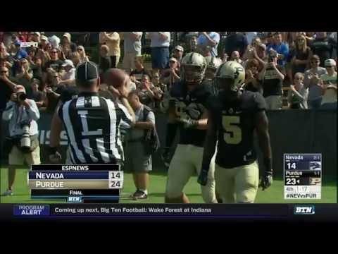 Nevada at Purdue - Football Highlights