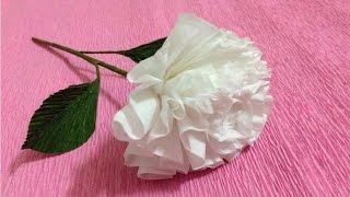 How to make rose tissue paper flowers flower making of tissue paper how to make tissue paper flowers making tissue paper flowers paper flower tutorial mightylinksfo