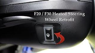 BMW F Series Heated Steering Wheel Retrofit ( F20 , F22 , F30 )