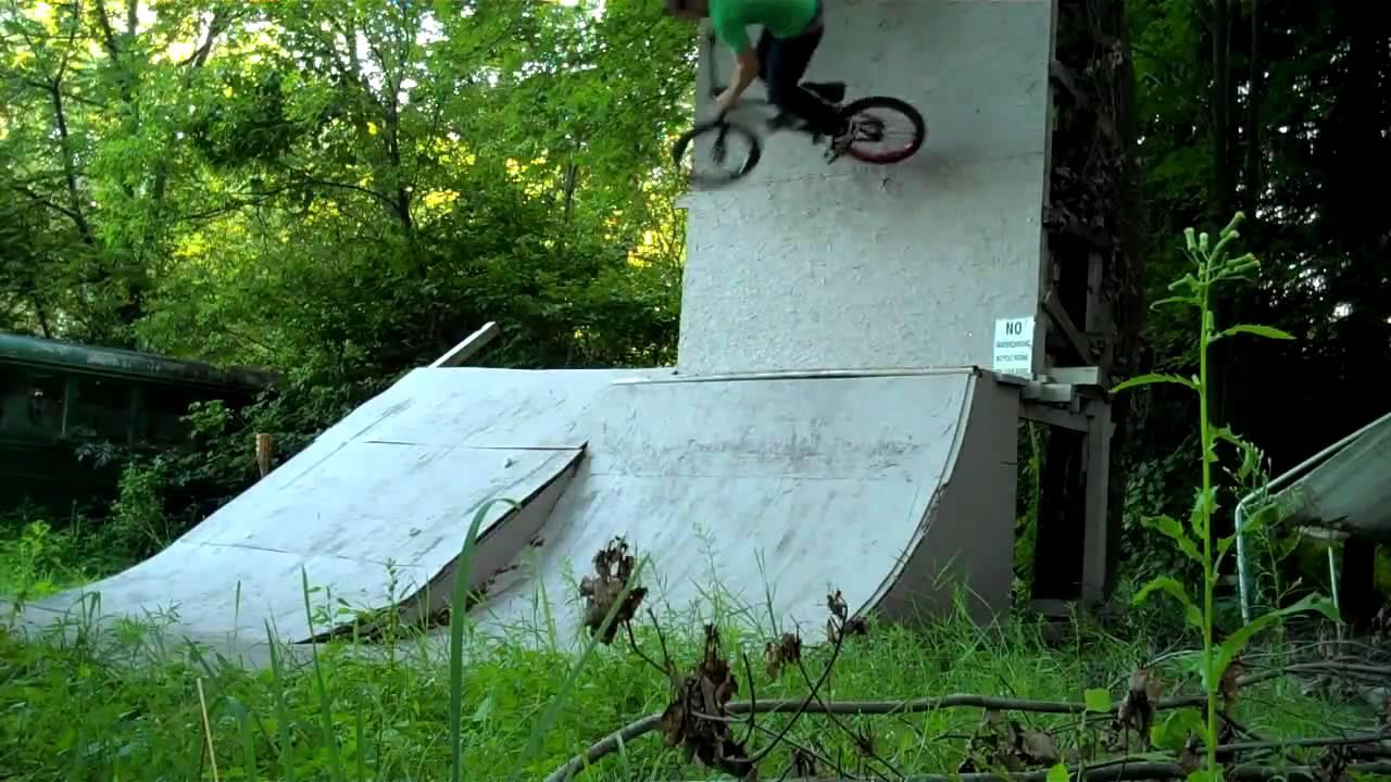 bmx backyard ramp session howell mi shane hernandez youtube