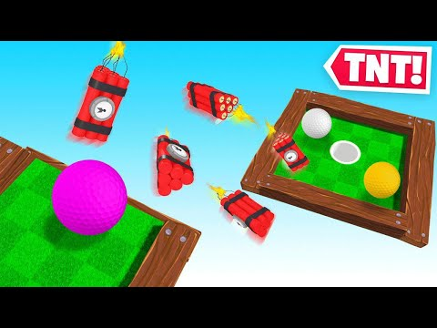 I Played THE IMPOSSIBLE Golf Map! (SO MUCH TNT)