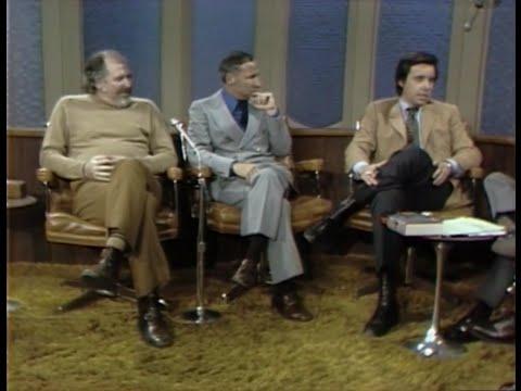 Mel Brooks, Robert Altman, Peter Bogdanovich, Frank Capra Dick Cavett Show 1972