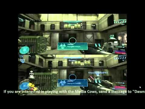 Halo 3 ODST: Infection Multiplayer With Media Cows!