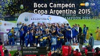 Boca legítimo Campeón de la Copa Argentina 2015