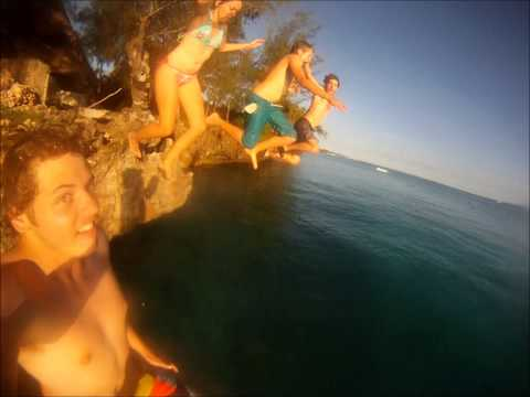 unguja lodge: cliff jumping