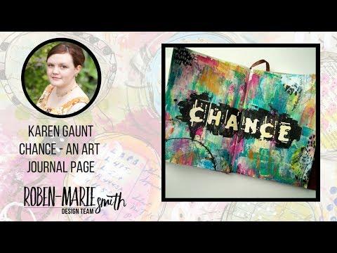 Chance - An Art Journal Page