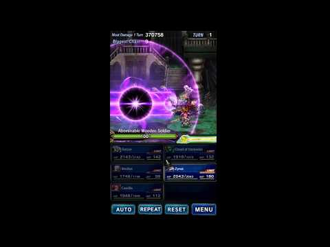 FFBE Limit Bursts - 4-star Cloud of Darkness (Particle Beam)