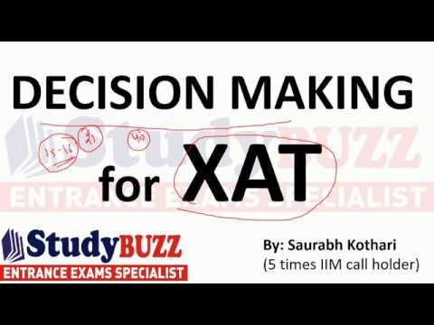 Decision making for XAT- Shortcuts & tricks!
