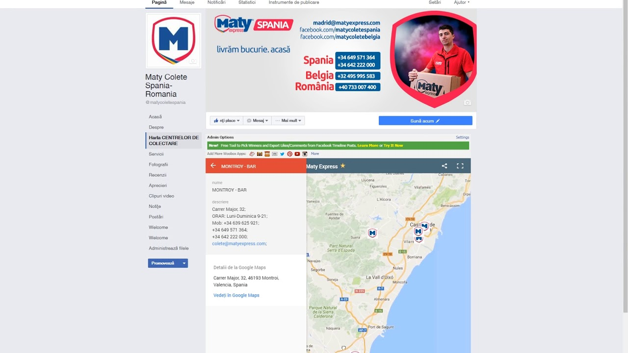 Harta Centrelor De Colectare Maty Express Youtube
