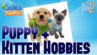 Sims FreePlay - Puppy & Kitten Hobbies
