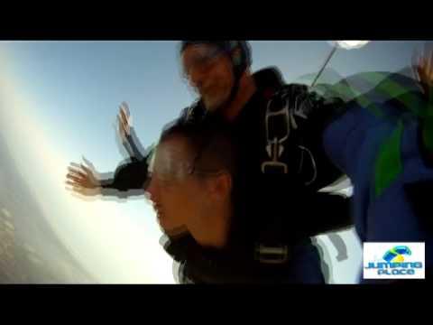 Tony York skydiving over Jacksonville, Fl