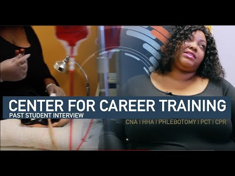 CENTER FOR CAREER TRAINING STUDENT INTERVIEW