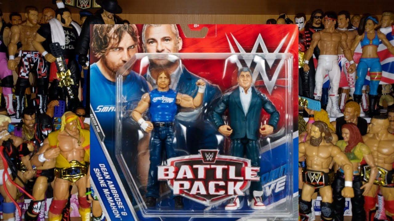 WWE Dean Ambrose Battle Pack Action Figure Series 46