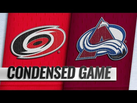 03/11/19 Condensed Game: Hurricanes @ Avalanche