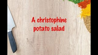 How to cook - A christophine potato salad