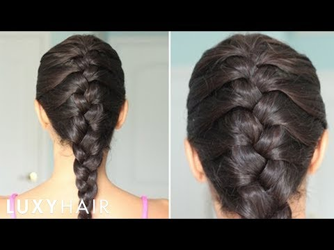 How to Basic French Braid Hairstyle