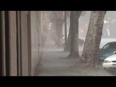 El Nino Washes Whittier