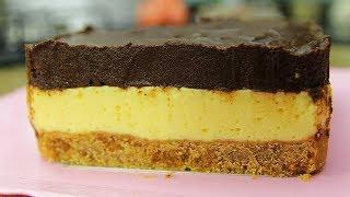 Aprenda fazer torta de chocolate com musse de laranja