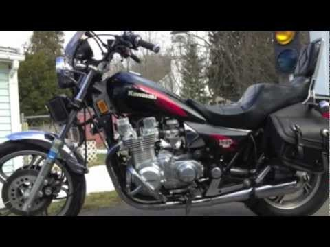 1984 Kawasaki LTD 1100 mint condition - YouTube