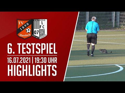 TV Haßloch - Viktoria Kelsterbach | 6. Testspiel | Highlights | 16.07.2021