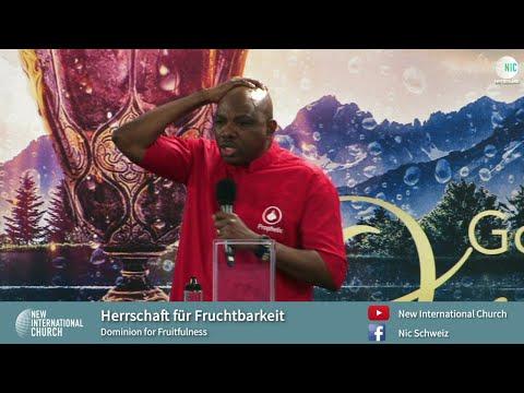 Salbung für Fruchtbarkeit / Anointing for Fruitfulness - Part 3 - Power Friday - John E. Sagoe
