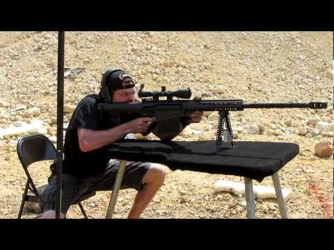 Barrett M82 .50 Caliber Semi-Automatic Rifle