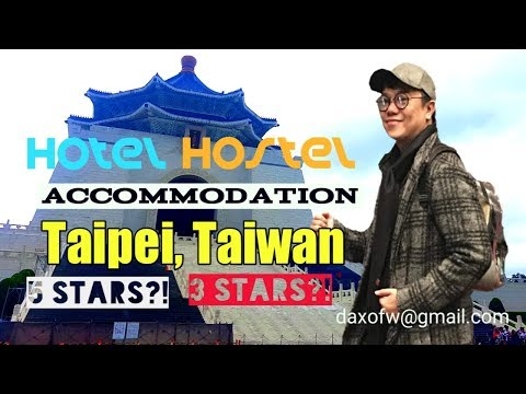 Usapang Taipei Accommodations | Hotel Hostel Capsule Taiwan | Travel Vlog | daxofw